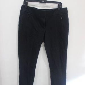 Loft skinny black pants